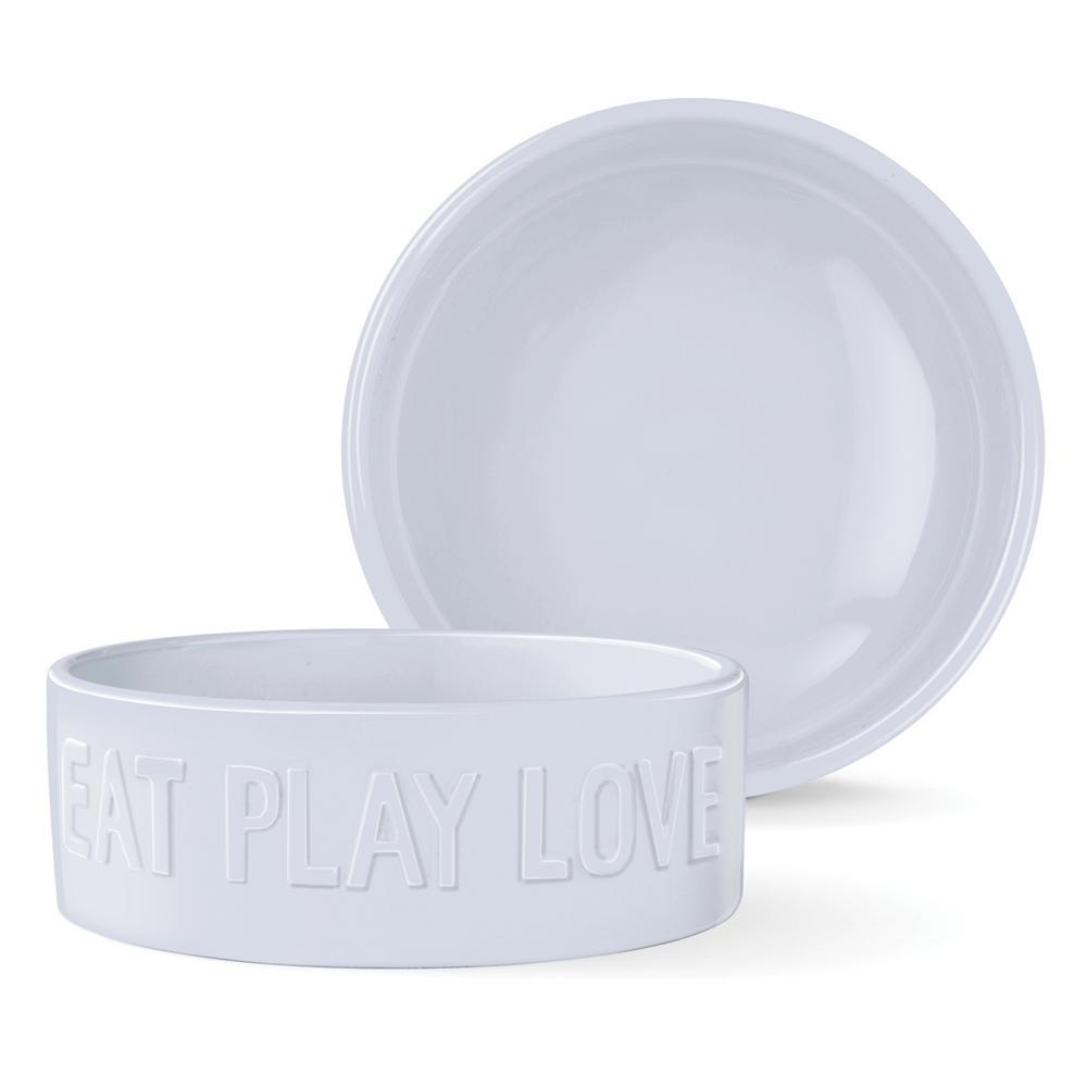 Best Food Bowl for English Bulldogs. Ceramic Dog Bowl